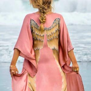 Warriors of the Divine - Angel Wing Kaftan Luxe