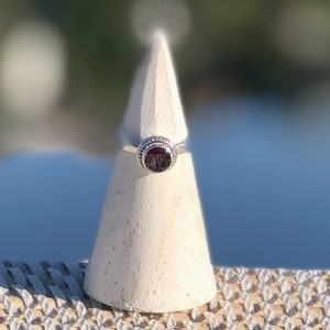 Classic Garnet Ring